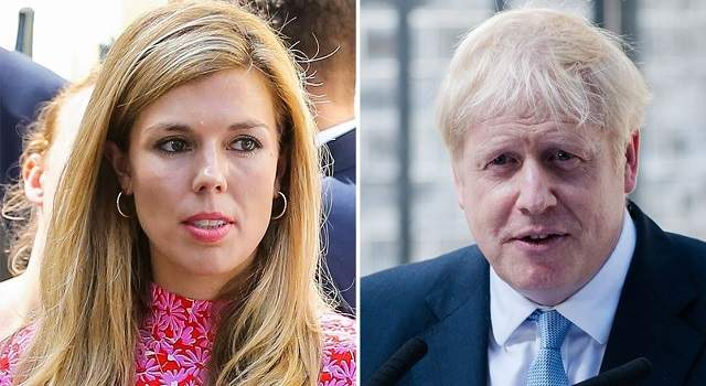 carrie symonds and boris johnson