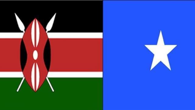 somalia kenya flag