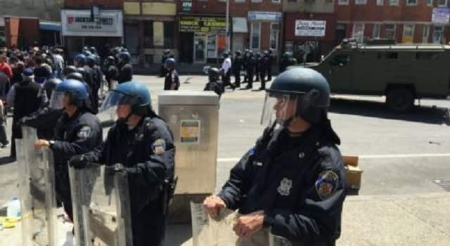 police usa baltimore