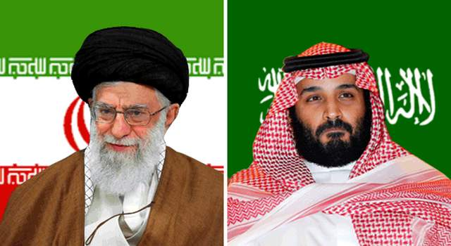 Ayatollah Ali Khamenei and Saudi CP MB Salman