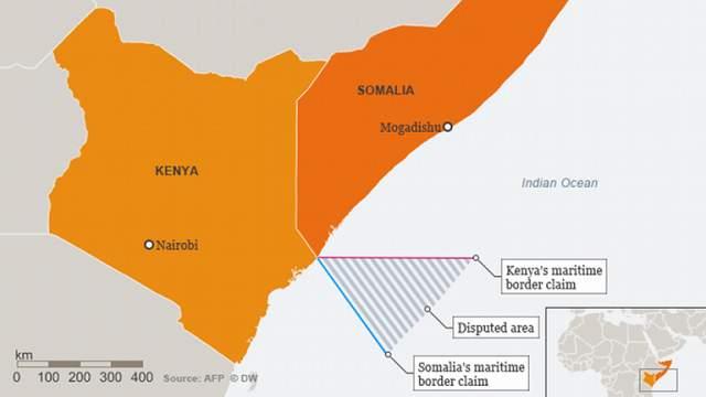 kenya iyo somalia map