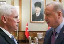 mike pence iyo erdogan