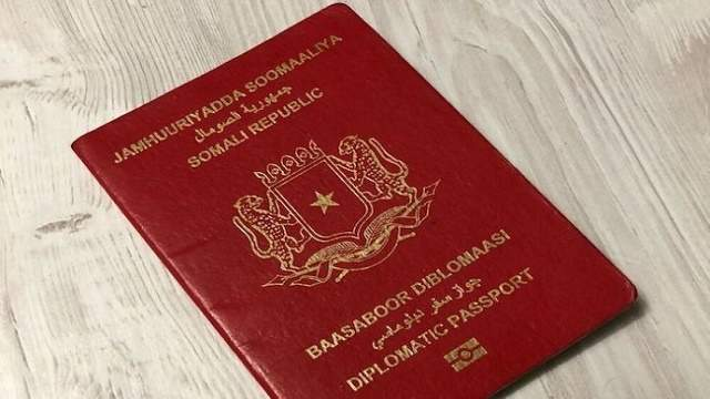 somali diplomatic pass