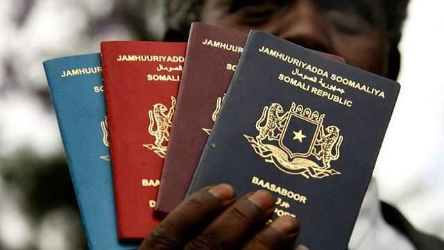 passport somalia