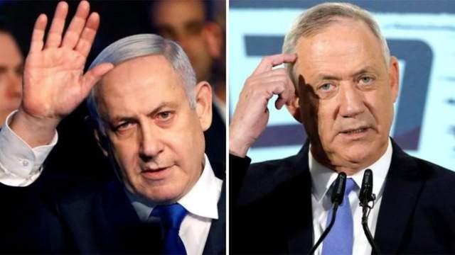 Benjamin Netanyahu iyo Benny Gantz