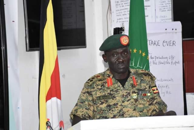 Gen Richard Otto amisom uganda