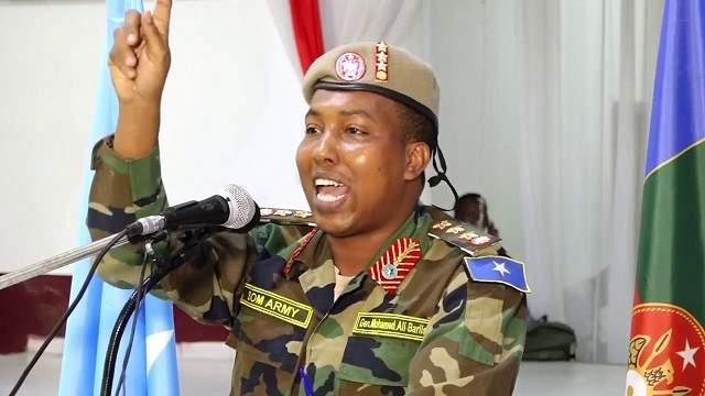 General Maxamed Cali Bariise