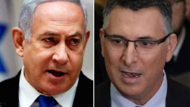 Netanyahu iyo Gideon Saar