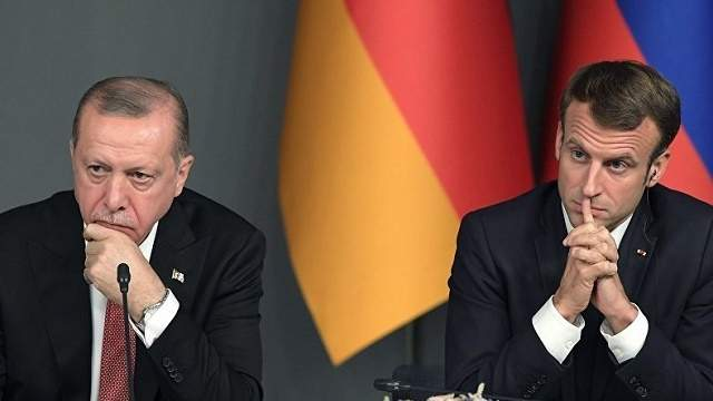 erdogan and macron