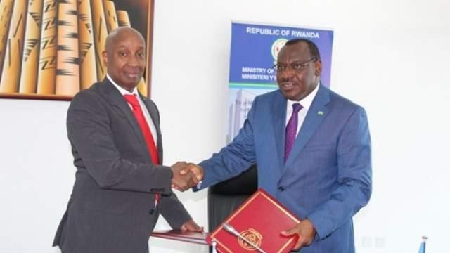 wasiirada somaliya omar iyo rwanda Gatete