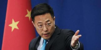 Zhao Lijian china