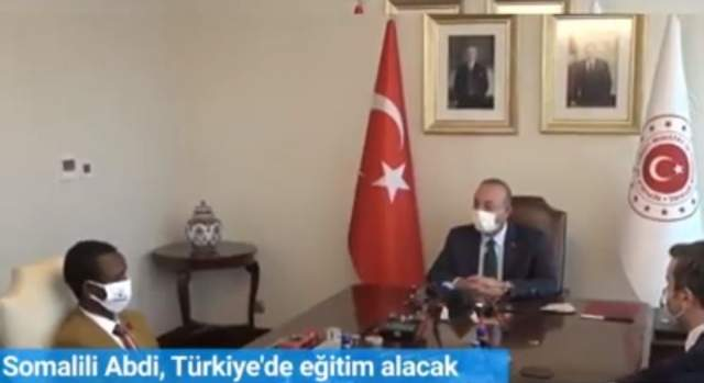 guuleed iyo wasiirka turkey
