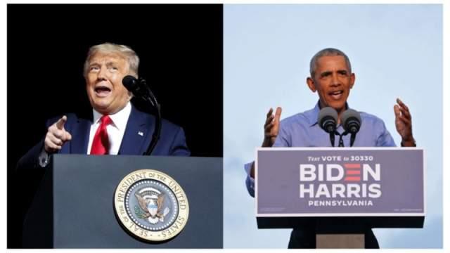 trump iyo obama