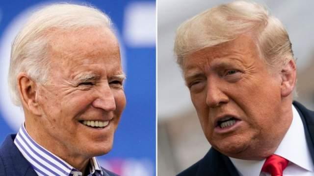 Joe Biden iyo trump
