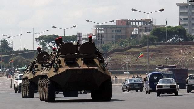 ethiopian army armor