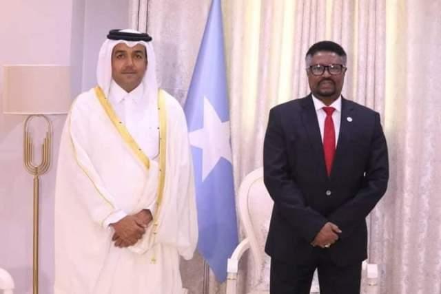 Gudoomiye Mursal iyo Qatar Dr Mutlaq Al Qahtani