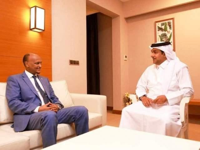 rwx Mahdi iyo Qatar Mutlaq al Qahtani