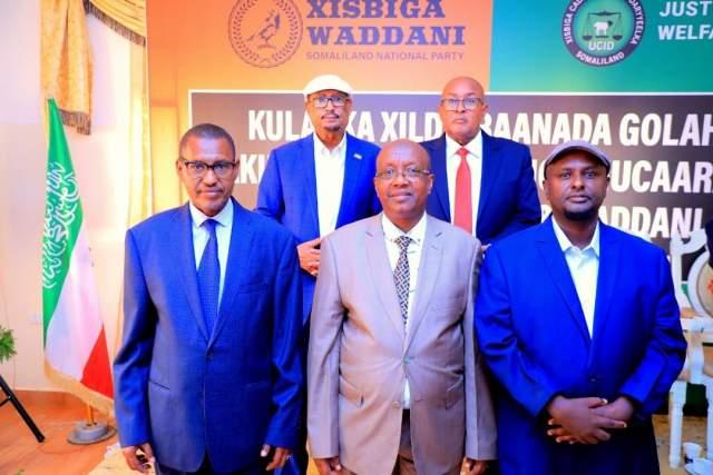 waddani iyo ucid gudoonka gw somaliland