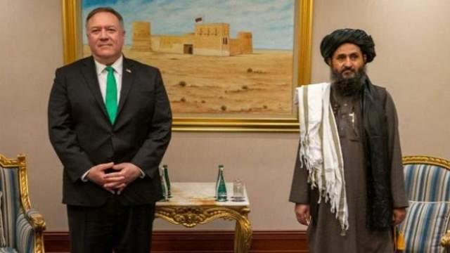 Mullah Abdul Ghani Baradar iyo pompeo